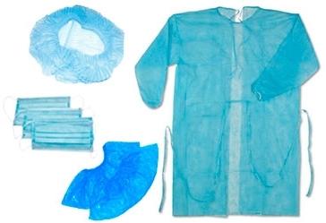 Медичний одяг зі спанбонду