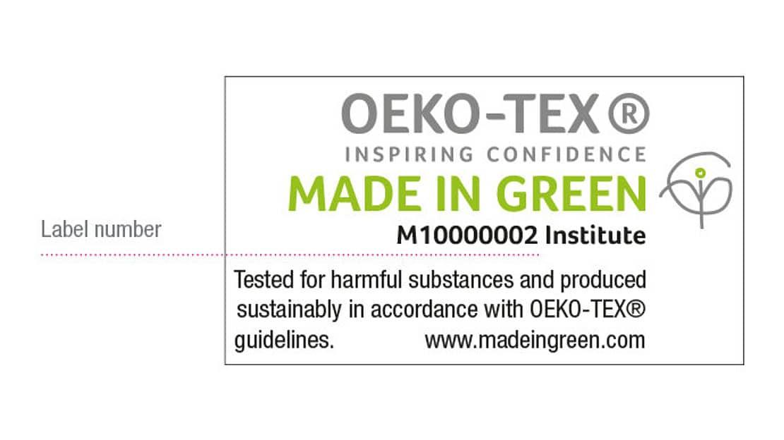 Сертификат OEKO-TEX спанбонд полипропилен
